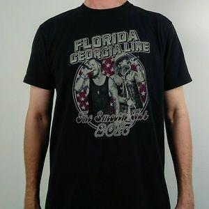 Vintage Shirts - 2017 Florida Georgia Line Tour Shirt Country